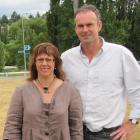 Rory and Karen McLellan, of Alexandra, consider their proposed plans for a shanty town like...