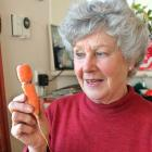 Carol Creighton was stunned when her friend found an  eternity ring embedded in a carrot in her...