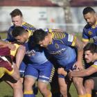 Otago have beaten Southland 17-14 in their pre-season hit out in Gore. Photo: Jonny Turner.