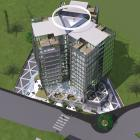 An impression of the proposed five-star Filleul St, Dunedin, hotel. Image: Thom Craig Architects.