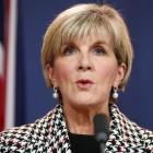 Australian Foreign Minister Julie Bishop. Photo: Getty Images