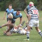 Highlanders regional semifinal at Littlebourne between King's High School and Otago Boys' High...