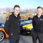 Cromwell drivers Brendon Leitch (left) and Andrew Waite have both been busy racing in...