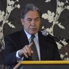 New Zealand First leader Winston Peters is proving an unknown for Nikko Asset Management. Photo:...