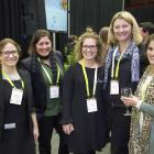 Discussing why there are few women in leadership roles in the horticultural industry during the...