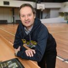Outgoing Otago Gold Rush head coach Todd Marshall at the Edgar Centre yesterday. Photo: Gregor...