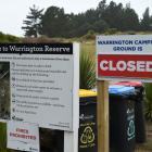 Warrington Reserve may be closed permanently to non-self-contained camper vans. Photo: Gregor...