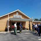 The shooting occurred at the Burnette Chapel Church of Christ in Tennessee. Photo: Reuters