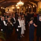 The Grand March during the University of Otago alumni ball at Larnach Castle on September 9....