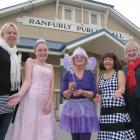 Ranfurly Musical and Dramatic Society members (from left), Sleeping Beauty co-director Lucia...