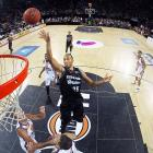 New Brooklyn Nets player Akil Mitchell in action with the New Zealand Breakers. Photo: Getty Images