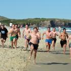 University of Otago second-year students were among about 500 people enjoying the sun at St Kilda...