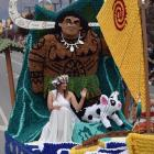 Alexandra Blossom Festival queen competition second runner-up Tania Ferreira in a Moana-themed...