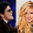 Pop singers Bruno Mars and Avril Lavigne. Photos: Reuters