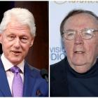 A combination photo shows Former President Bill Clinton (L) and Author James Patterson. Photo:...