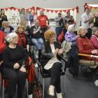 Dunedin South Labour supporters listen to Clare Curran speak at an election night function on...