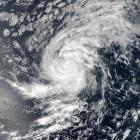 Satellite image of Tropical Storm Irma pictured here in the Eastern Atlantic Ocean. Photo: Reuters