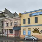 The former Gregg's building at 21 Fryatt St (centre) and the Wharf Hotel building at 25 Fryatt St...