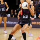 Silver Ferns' goal attack Maria Tutaia made a strong return last night. Photo: Getty Images