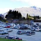 One of the most popular public carparks in Queenstown.