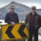 Looking back, looking forward . . . The Clean members David Kilgour (left) and Robert Scott...