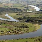 The Waikato River winds its way towards the sea. Photo by the Waikato Times.