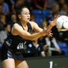 Whitney Souness of New Zealand during the 2017 Netball Quad Series match between the New Zealand...