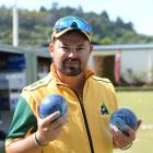 Australian international Aaron Wilson at the North East Valley Invitation singles at the North...