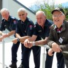 Four chief fire officers gathered together to celebrate the Millers Flat and Ettrick Volunteer...