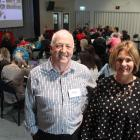 Kahui Ako executive principal Paddy Ford and Vision Education director Alison Davis at the...