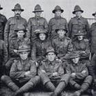 Riflemen of B Company, Fifth Reserve Battalion, N.Z. Rifle Brigade, prior to leaving Sling Camp,...