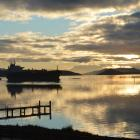 Oil tanker Matuku, capable of carrying up 50 million litres of fuel, arrives in Otago Harbour...