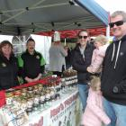 Michelle and Kevin Fayen, from North Canterbury business Kev's Pickled, discuss their products...