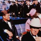John and Jackie Kennedy with John Connally shortly before the shootings in Dallas, Texas. Photo:...