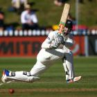 NZ A captain Henry Nicholls scored 94 in his team's heavy loss. Photo Getty
