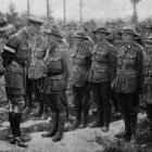 General Godley reviews New Zealanders and congratulates them on their success in  the battle of...