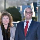 David Clark and Clare Curran. Photo: ODT