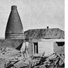 The last kiln at the Milton pottery, just before demolition. - Otago Witness, 10.10.1917.