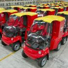 New Zealand Post's 400 recently commissioned Paxster electric vehicles have been taken out of...