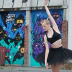Dancer Arabello Nimmo will perform a solo ballet at the annual three-day  Labour Weekend Wanaka...