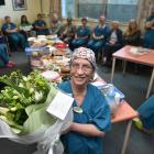 Dunedin Hospital colleagues farewell theatre nurse Jenny King, whose 52-year career is coming to...