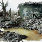 German bunkers at Passchendaele.