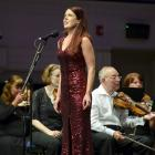 Dunedin soprano Anna Leese sings with Dunedin Symphony Orchestra during the the first ''Tally Ho!...