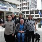 Organisers of next week's public meeting (from left) Dave Allen, Dr Lynley Hood, Andrea Woodford,...