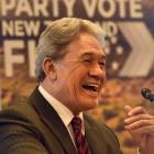New Zealand First leader Winston Peters warns Dunedin voters to be wary of promises to build a...