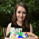Dunedin student Rosie Naylor is collecting donations for Christmas hampers she will give to Women...