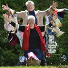 Waikouaiti women Brenda Ives (rear) and Ann Charlotte (both 75) have become more mindful of the...