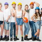 The cast of season four of the 'The Block NZ: Villa Wars'. PHOTO: TV3