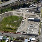 A new building starts to emerge on the land that once housed the hallowed Carisbrook. PHOTOS:...