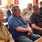 About 20 Henley residents attend a meeting called by the Otago Regional and Dunedin City Councils...